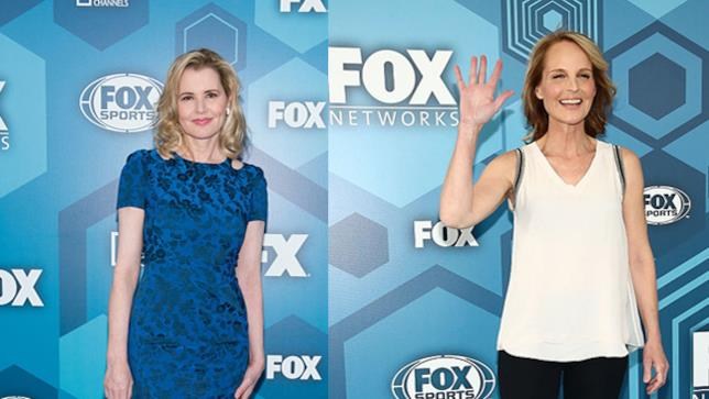 Geena Davis e Helen Hunt ai Fox Upfront 2016
