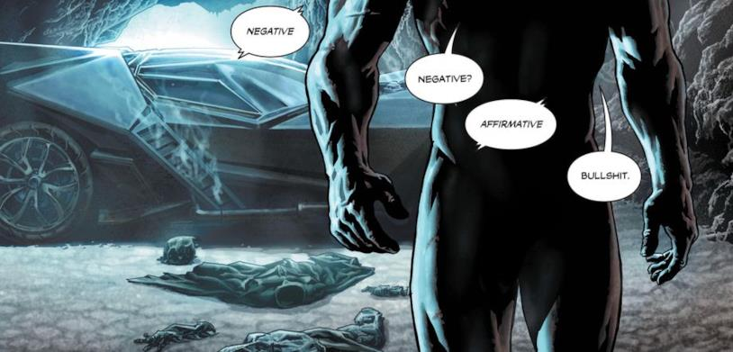 Batman il pene del cavaliere oscuro
