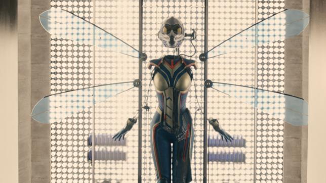 Il costume di Wasp apparso alla fine di Ant-Man