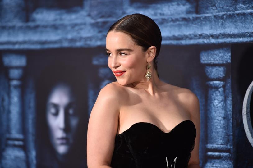 Emilia Clarke sul red carpet