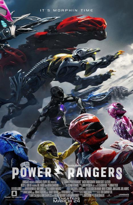 Il poster finale di Power Rangers