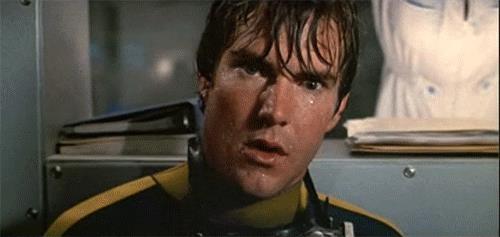 Dennis Quaid in una scena del film