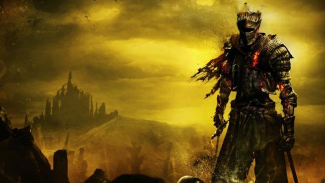 Un'immagine tratta da Dark Souls III