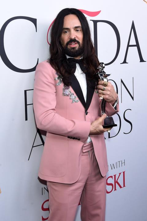 CFDA Awards 2016: Alessandro Michele.