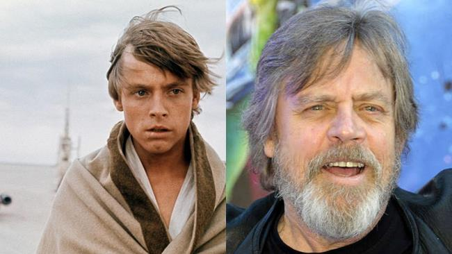 Mark Hamill e Luke Skywalker