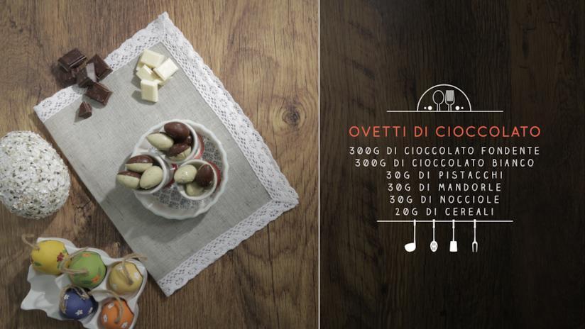La ricetta degli ovetti di cioccolato