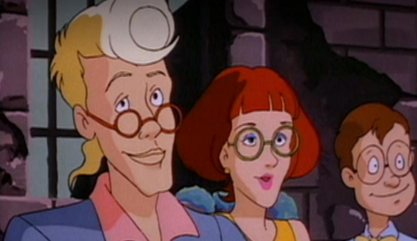 The Real Ghostbusters, Egon, Janine e Louis