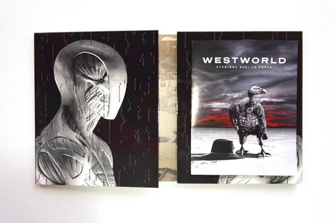 Custodia dei dischi di Westworld 2 con guida agli episodi