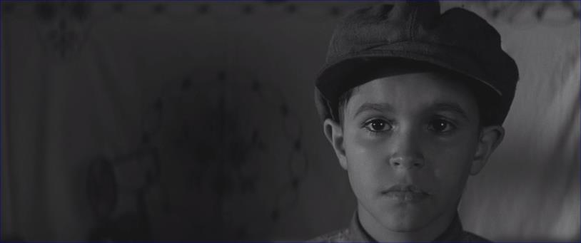 Uno splendido primo piano del giovane Petr Kotlár, protagonista del film