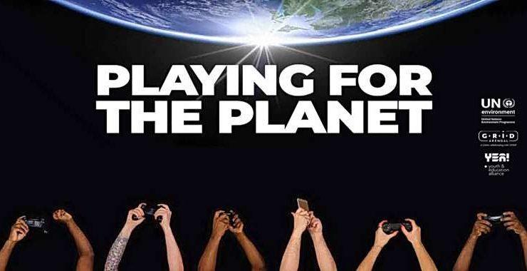 Sony, Microsoft e Google sposano la causa Playing for the Planet