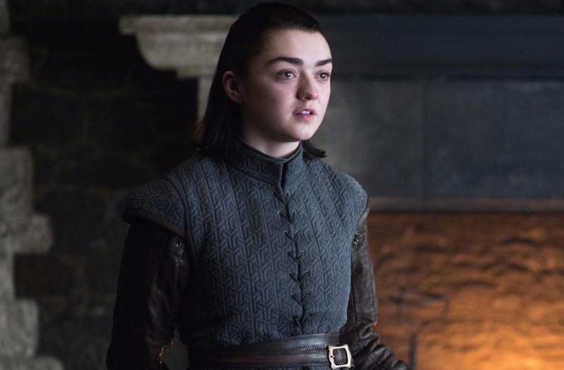Arya Stark tornata a Grande Inverno nella settima stagione