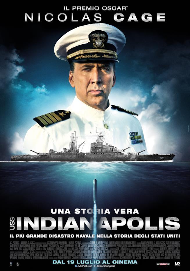 USS Indianapolis: dal 19 luglio al cinema
