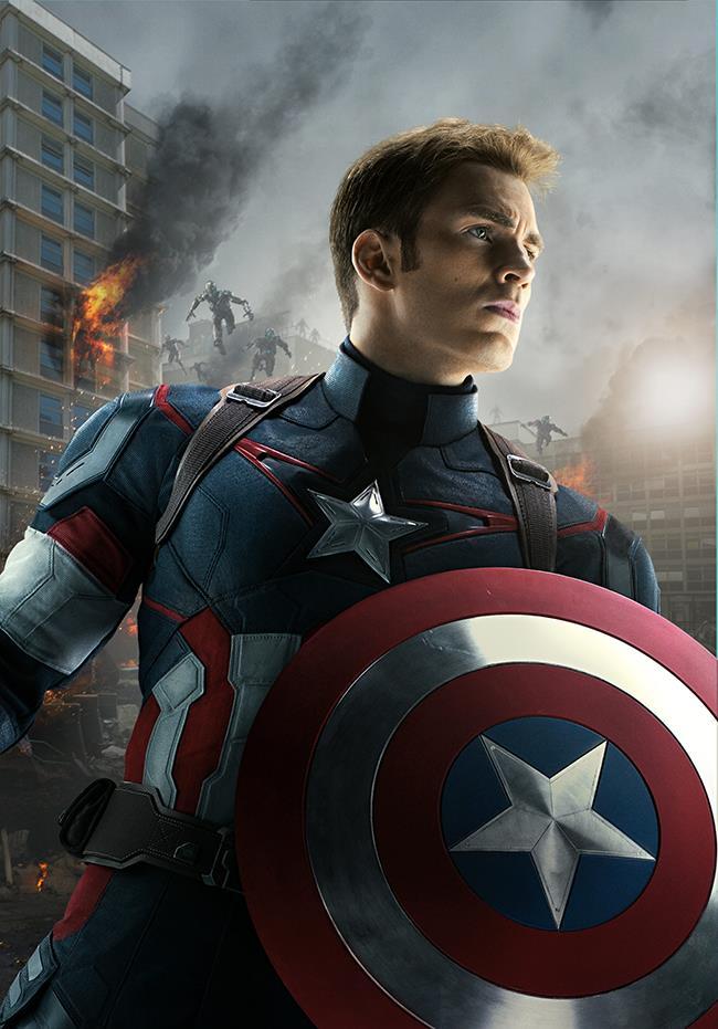 Captain America in azione