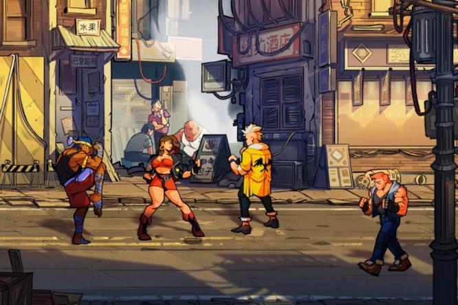 Streets of Rage 4 annunciato con un primo trailer
