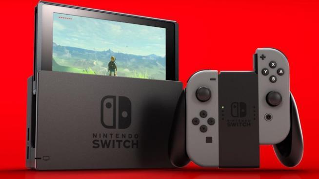 Switch, la più recente console di Nintendo