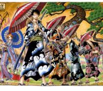One Piece Kimono