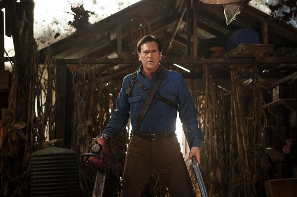 Bruce Campbell nei panni di Ash Williams