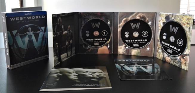 Il cofanetto Blu-ray di Westworld con tutti i contenuti in vista