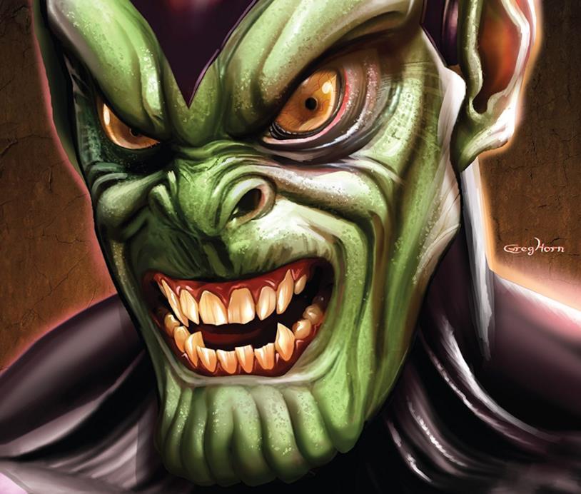 Dettaglio della cover di Skrulls! #1