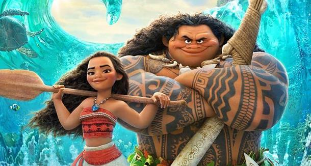 Vaiana e Maui protagonisti di Oceania