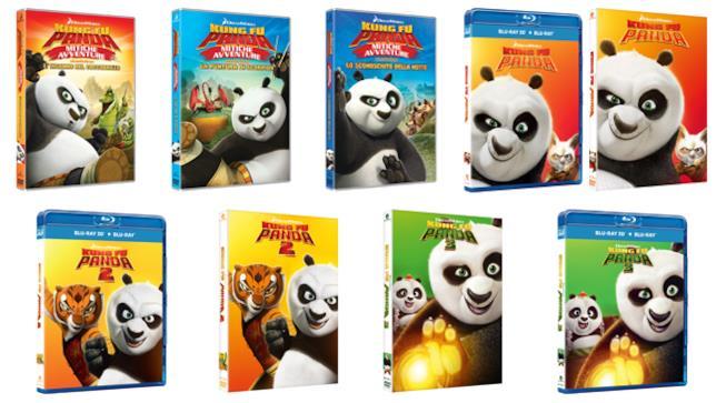 Kung Fu Panda DVD e Blu-ray