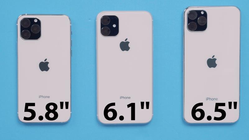 Dummy dei tre nuovi iPhone del 2019