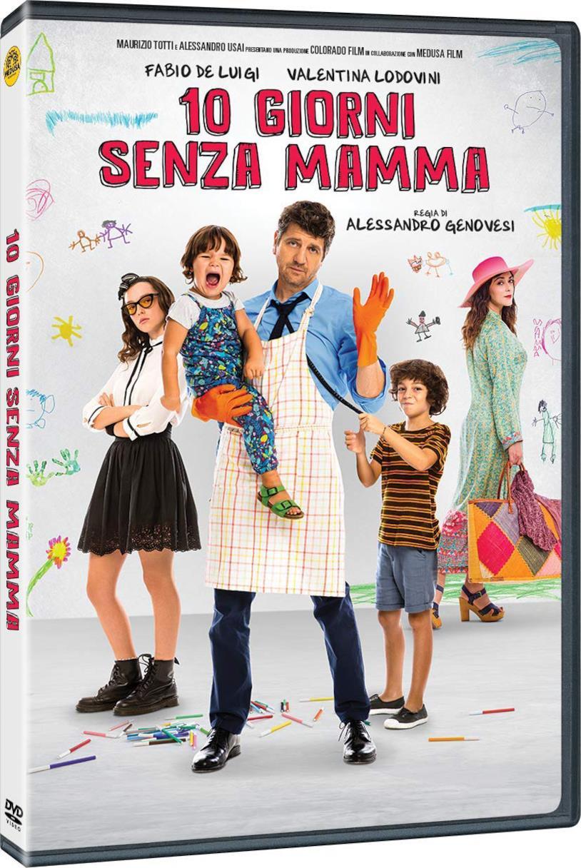 10 giorni senza mamma - Home Video - DVD