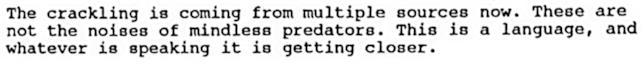 Lo script di GoT della Cushing Memorial Library: il linguaggio degli Estranei