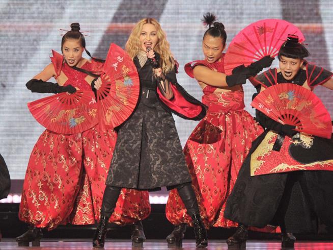 Foto di Madonna in concerto in Australia