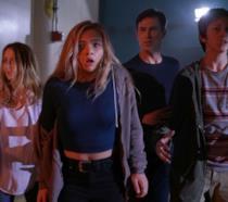 I protagonisti in una foto dal serial.