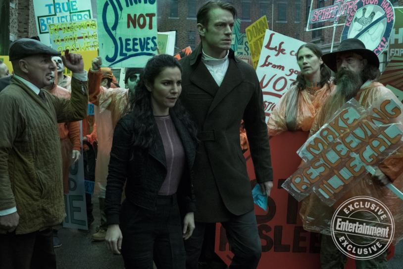 Altered carbon, un'immagine esclusiva della serie in arrivo si Netflix