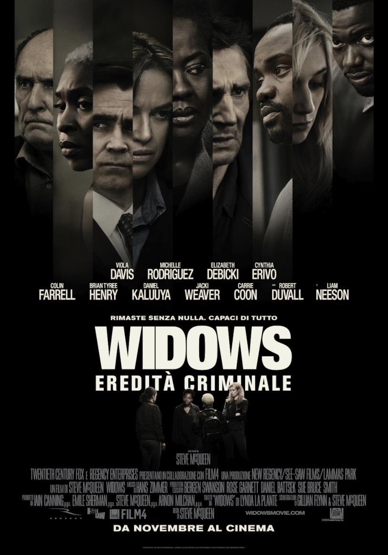 Il poster ufficiale di Widows – Eredità Criminale
