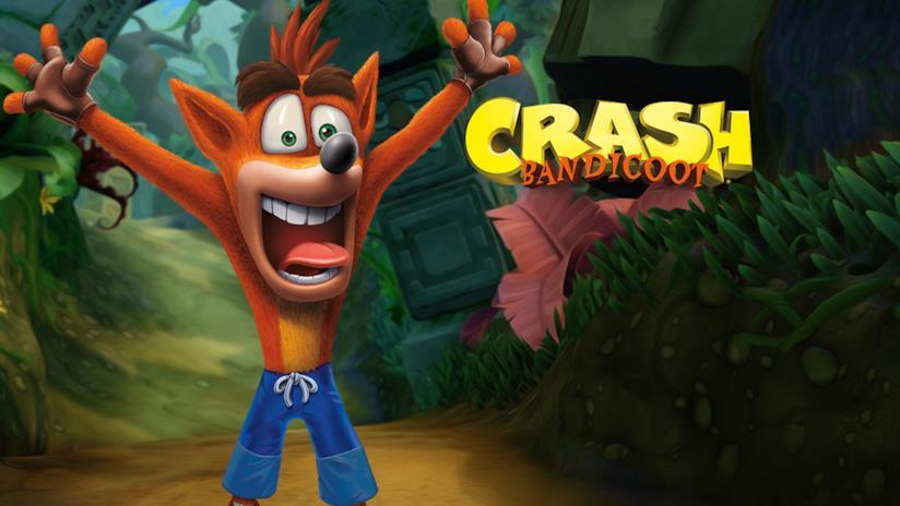 Il folle Crash sulla cover di Crash Bandicoot N.Sane Trilogy