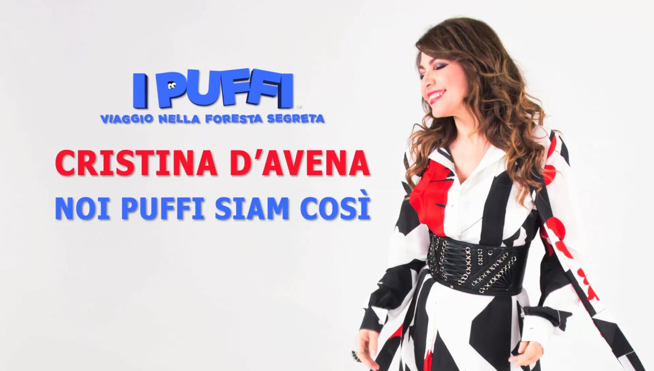 Cristina D'Avena e la nuova canzone Noi Puffi Siam Così