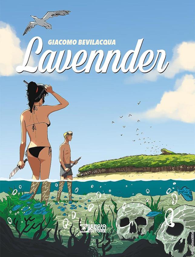La cover del fumetto di Giacomo Bevilacqua per Bonelli