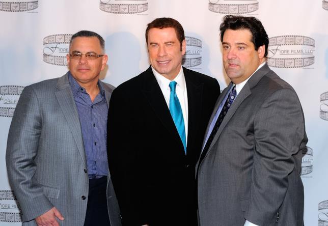 Travolta e le co-star di Gotti alla conferenza stampa del film