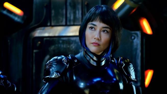 Rinko Kikichi nel ruolo di Mako Mori