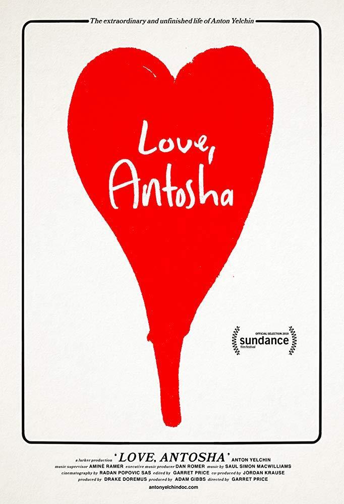 Il poster di Love, Antosha