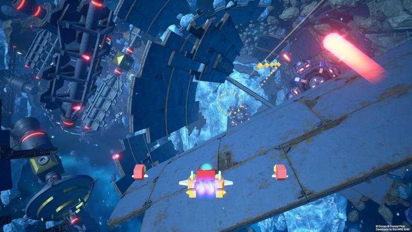 Gummi Ship astronave KH3