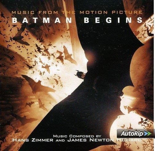La copertina della colonna sonora di Batman Begins