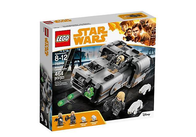 LEGO: dettagli sul box del set Il Landspeeder di Moloch