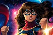 Ms. Marvel in costume nella versione del fumetto