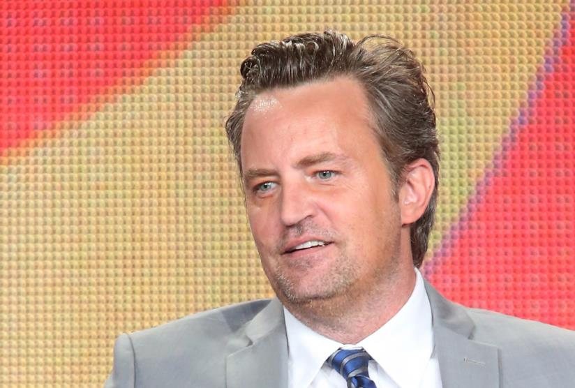 Matthew Perry in primo piano