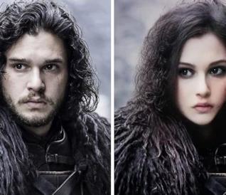 I personaggi di Game of Thrones del sesso opposto, col nuovo filtro Snapchat