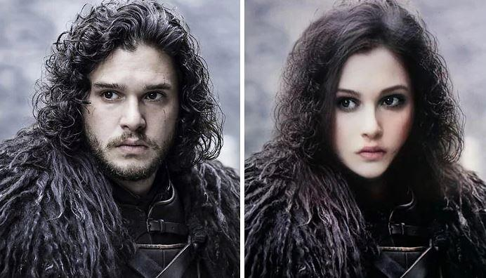 Jon Snow in versione femminile