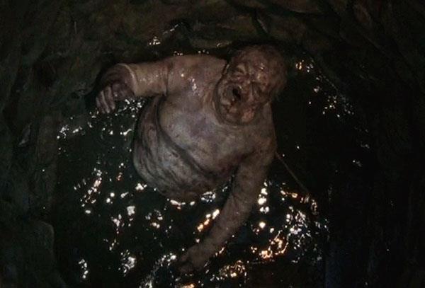 Lo zombie del pozzo in The Walking Dead