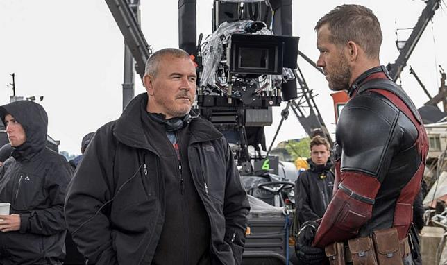 Un momento con Tim Miller e Ryan Reynolds sul set di Deadpool 2