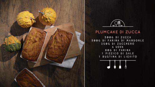 Gli ingredienti per il plumcake di zucca