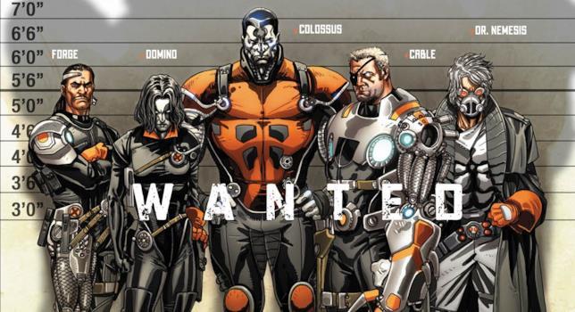Una X-Force dei fumetti
