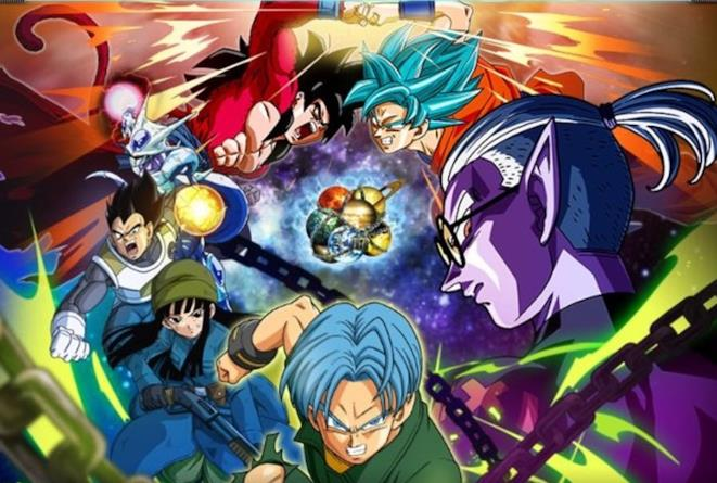 i personaggi di Dragon Ball Heroes